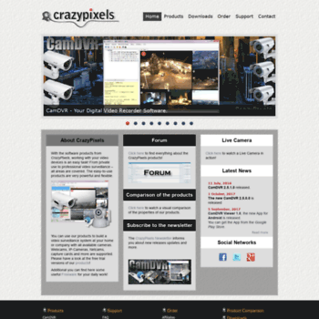 crazypixels com at WI  Find PC Surveillance Software, IP
