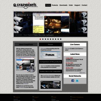 crazypixels com at WI  Find PC Surveillance Software, IP
