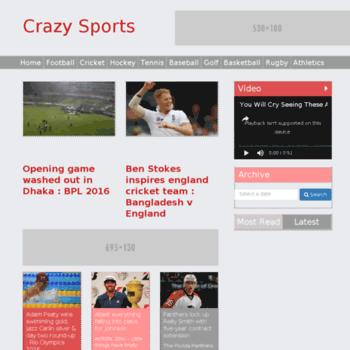 Crazysports.info thumbnail