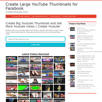 createyoutube com at WI  Create Larger Big YouTube