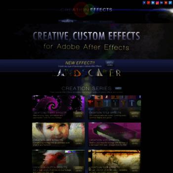 Creationeffects.com thumbnail