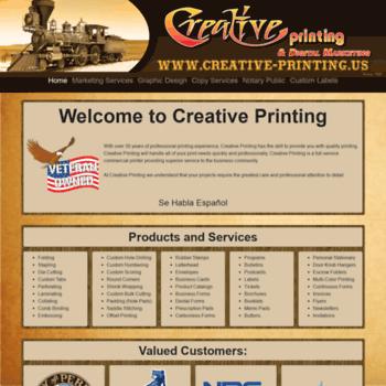 Creative-printing.us thumbnail