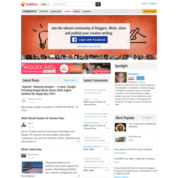 creative sulekha com at WI  Creative Blogs | Creative Writing