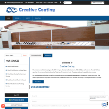 Creativecoating.in thumbnail
