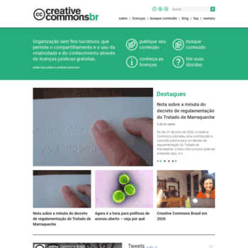 Creativecommons.org.br thumbnail
