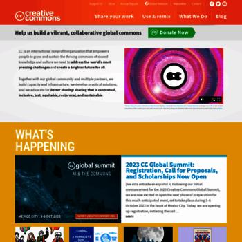 Creativecommons.org thumbnail