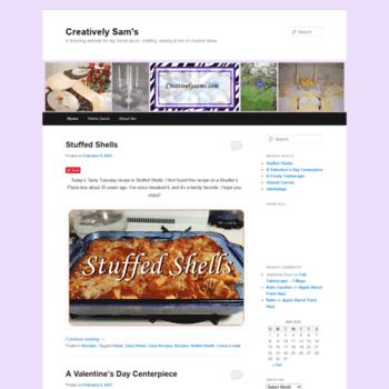 Creativelysams.com thumbnail