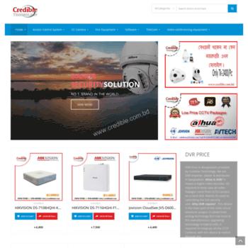 credible com bd at WI  CCTV Camera supplier | XVR - DVR