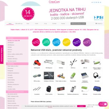 Creocom.sk thumbnail