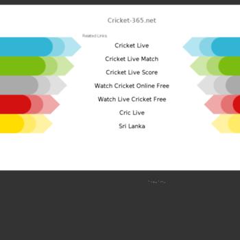 Cricket 365 Net At Wi Loading