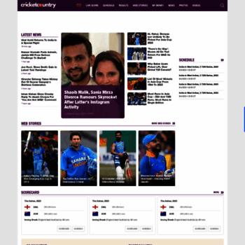 cricketcountry com at WI  Live Cricket Score & News | Latest