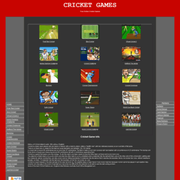 Cricketgames.biz thumbnail