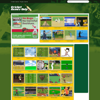 Cricketgamesonly.com thumbnail