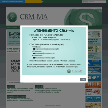 Crmma.org.br thumbnail