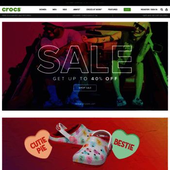 Crocssa.co.za thumbnail
