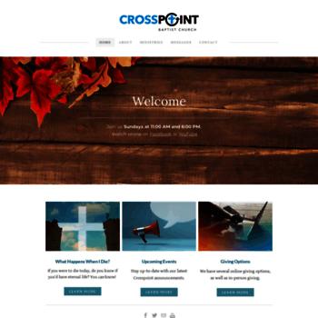 Crosspointbaptist.ca thumbnail