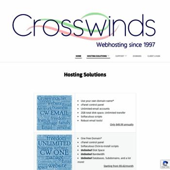 Crosswinds.net thumbnail