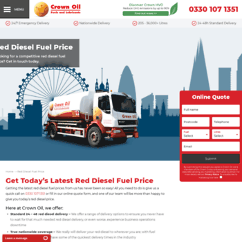 crown-red-diesel co uk at WI  Buy Red Diesel - Find The