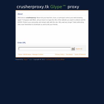 Crusherproxy.tk thumbnail