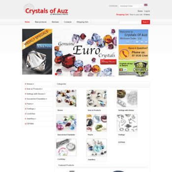 Crystalsofauz.com.au thumbnail