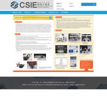 Csie.cyut.edu.tw thumbnail
