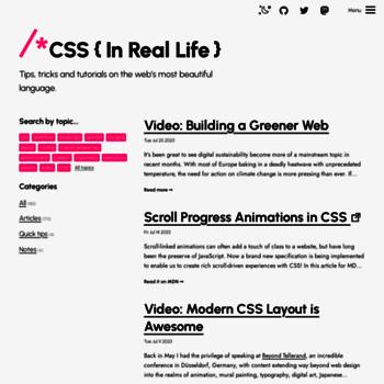 Css-irl.info thumbnail