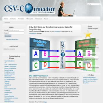 Csv-connector.de thumbnail