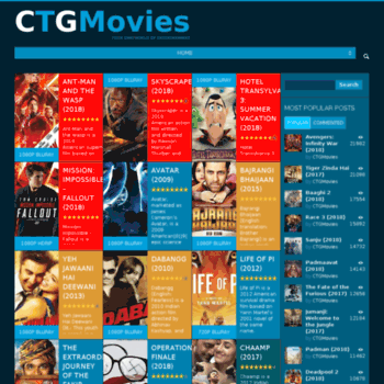 ctgmovies com at WI  CTGMovies | Your own WORLD of Entertainment