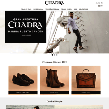 cuadra.com.mx at WI. CUADRA - Productos de Piel Exótica 0f61052666f