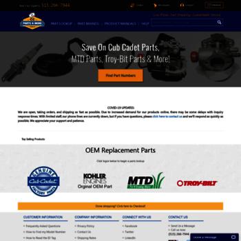 cubcadetpartsnmore com at WI  Cub Cadet Parts, Cub Parts