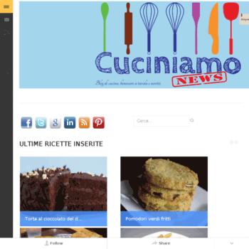 Cuciniamonews.it thumbnail