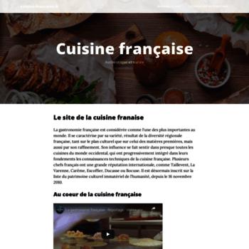 Cuisine-francaise.fr thumbnail