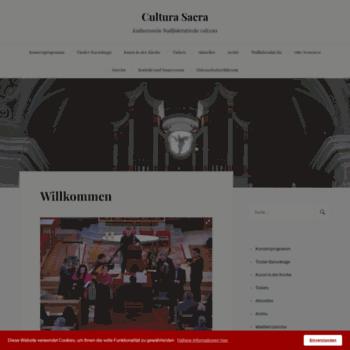 Cultura-sacra.at thumbnail