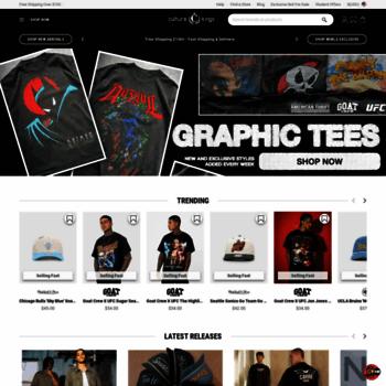 culturekings com at WI  Shop Streetwear Clothing, Sneakers