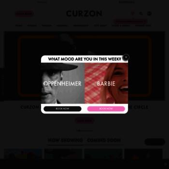 Curzoncinemas.com thumbnail