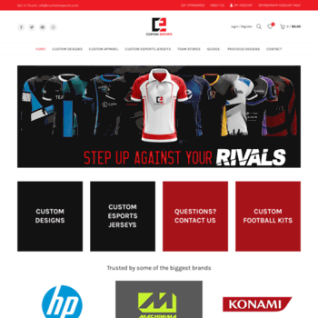 outlet store 7d1bd 59fca customesports.com at WI. Home - Custom Esports Jerseys ...