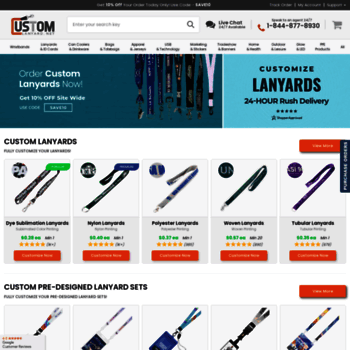 Customlanyard.net thumbnail