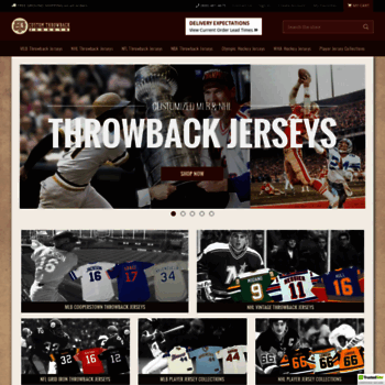 check out 91bcf d8ab2 customthrowbackjerseys.com at WI. MLB, NHL & NFL Vintage ...