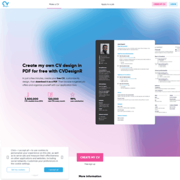 Cvdesignr Com At Wi Create My Own Cv Design In Pdf For Free