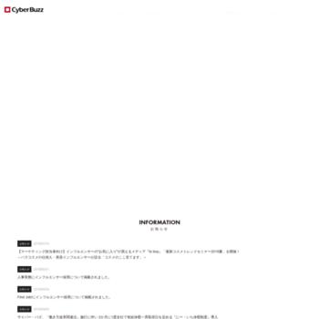 Cyberbuzz.co.jp thumbnail