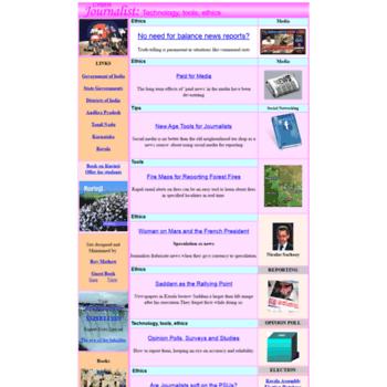 Cyberjournalist.org.in thumbnail