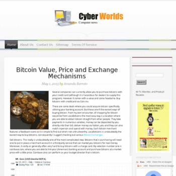 Cyberworlds.org.uk thumbnail