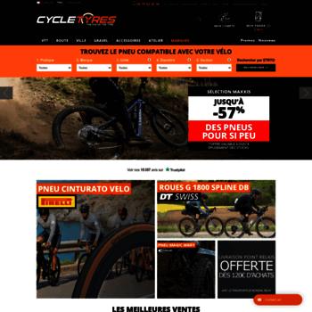 Cycletyres.fr thumbnail