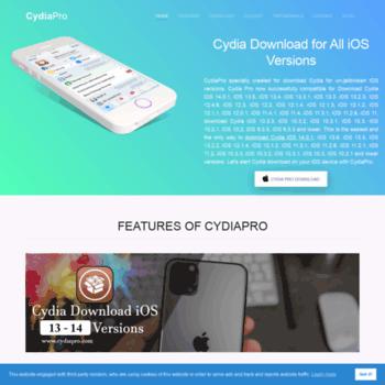 cydiapro com at WI  Download Cydia iOS 12 2 - iOS 9 [100% Free] with