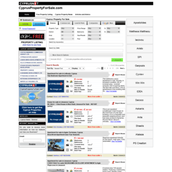 Cypruspropertyforsale.com thumbnail