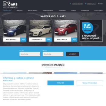 D1cars.cz thumbnail