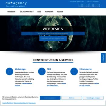 Da-agency.de thumbnail