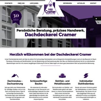 Dachdeckerei-cramer.de thumbnail