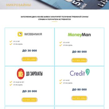 заявка на кредит все банки