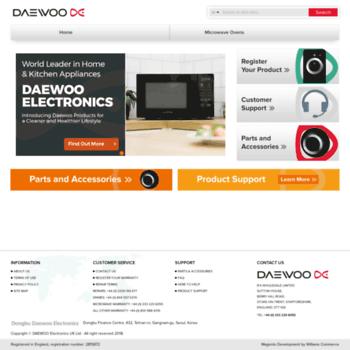Daewooelectronics.co.uk thumbnail
